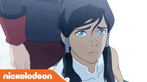 The Legend of Korra Book 4 Episode 2 'Korra Alone' Clip 1 Nick