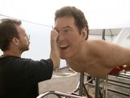 David Hasselhoff replica for The SpongeBob Movie