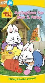Max & Ruby Springtime For Max & Ruby VHS