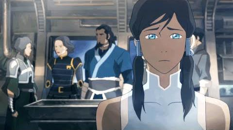 The Legend of Korra Book 3 Episode 12 'Enter the Void' Clip Nick