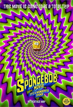 The SpongeBob Movie It's a Wonderful Sponge Comic-Con poster