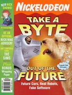 Nickelodeon Magazine cover December 2000 Robotic Dog