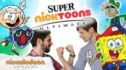 Ultimate Nicktoons Mashup Poster 💥 Smash Bros