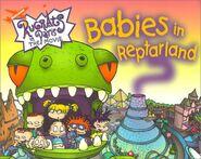 Rugrats Babies in Reptarland Book
