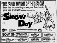 Snow Day Movie ad