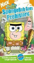 SpongebobVHS SpongebobGoesPrehistoric