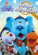 Blue's Room Shape Detectives DVD