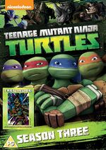 TMNT Season 3 UK DVD