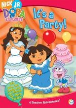 Dora the Explorer It's a Party! DVD