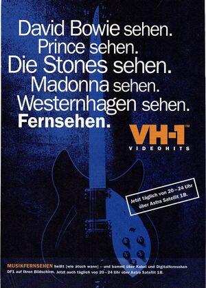 VH-1 Werbeanzeige