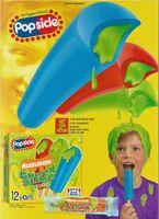 Nickelodeon Popsicle Green Slime Print ad Nick Mag June-July 1998