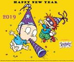 Rugrats 2019 New Year Wallpaper
