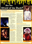 Nickelodeon Magazine October 1995 Are You Afraid of the Dark special effects