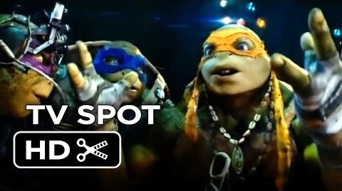 Teenage Mutant Ninja Turtles TV SPOT - Created As Weapons (2014) - Will Arnett Movie HD