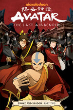 Avatar The Last Airbender Smoke and Shadow Part Two Book