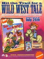 Rugrats All Grown Up Dude Wheres Horse DVD print ad Nick Mag Aug 2005