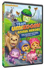 Team Umizoomi Animal Heroes DVD