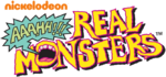 Aaahh!!! Real Monsters logo (with 2009 Nickelodeon wordmark)
