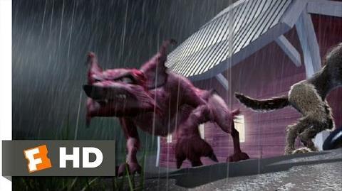 Barnyard (4 10) Movie CLIP - Coyote Attack! (2006) HD