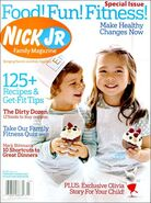 Nick Jr Family Magazine cover Feb Mar 2007