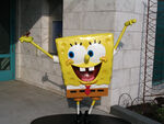 Spongebob 2016 Statue Chicago