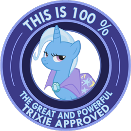 The great and powerful trixie approved by ambris-d4ivli5