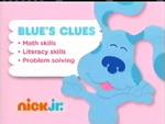 Blue's Clues 2012 curriculum board