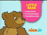 Little Bear 2012 curriculum board