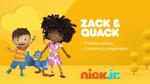Zack & Quack 2018 curriculum board