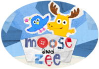 Noggin Nick Jr. Moose and Zee Logo
