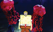 Spongebob-liveflying-like a jellyfish