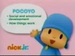 Pocoyo 2012 curriculum board