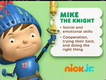 Mike the Knight 2012 curriculum board