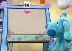 Blue's Room Doodleboard
