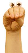 Oobi Noggin TV Show Hand Puppet Character Nickelodeon Nick Jr