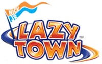 Nickelodeon Nick Jr LazyTown Lazy Town Logo Original