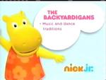 The Backyardigans 2012 curriculum board