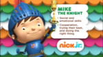 Mike the Knight 2014 curriculum board