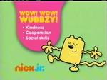 Wow Wow Wubbzy 2012 curriculum board