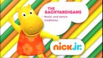 The Backyardigans 2014 curriculum board