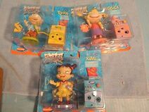 Vintage-Lot-Rugrats-Action-Figures-Mattel-Tommy Angelica and Kimi