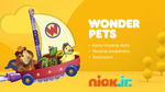 Wonder Pets 2018 curriculum board