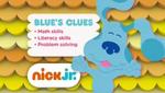 Blue's Clues 2014 curriculum board
