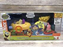 2004-Spongebob-Squarepants-Patty-Wagon-Hamburger-RC-Action