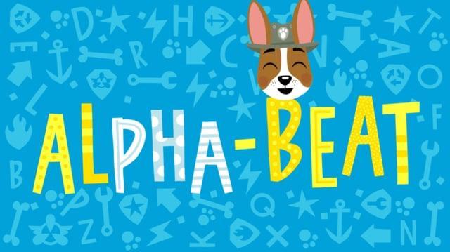 Nick Jr. Alpha-Beats Paw Patrol