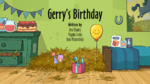 Gerry's Birthday