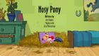 Nosy Pony