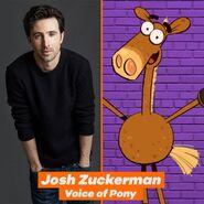 Pony's voice actor