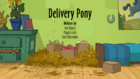 Delivery Pony