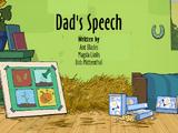 Dad's Speech